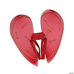 Kid's Heart-Shaped Cupid Wings