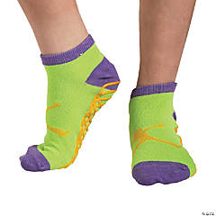 Kid's Jump Ankle Socks with Grippers - Large