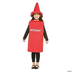Kid's Ketchup Costume - Medium