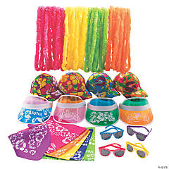 Kid's Luau Wearable Party Kit for 50