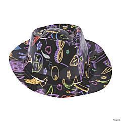 Kid's Mardi Gras Fedora Hats