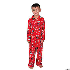 Kid's Mickey Mouse Christmas Pajamas - Large