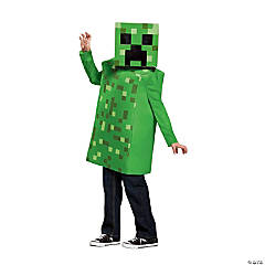 Kid's Minecraft Creeper Halloween Costume - Extra Small