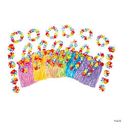 Kid's Multicolor Hula Kits for 12