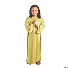 Kid's Olive Green Nativity Gown - Small/Medium