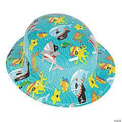 Kid's Pirate Animals Derby Hats