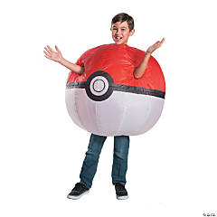 Kid's Pokemon™ Inflatable Poke Ball Costume
