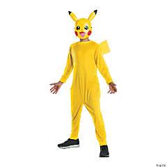Kid's Pokemon™ Pikachu Costume with Mask - Medium