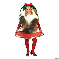 Kid's Polyester Christmas Bell Costume