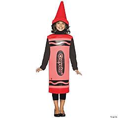 Kid's Red Crayola® Crayon Costume - Medium