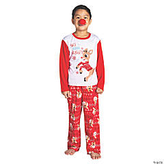 Kid's Rudolph the Red-Nosed Reindeer® Christmas Pajamas - Large