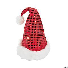 Kid's Sequin Santa Hat