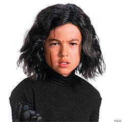 Kid's Star Wars™ Episode VIII: The Last Jedi Kylo Ren Wig with Scar Tattoo