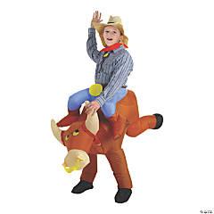 Kid's Airblown Bull Rider Halloween Costume
