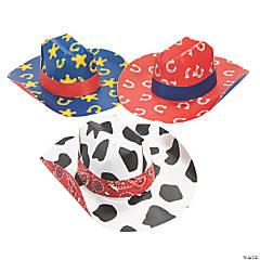Kids' Cardboard Cowboy Hats