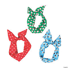 Kids' Christmas Wired Headbands