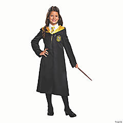Kids Classic Harry Potter Hufflepuff Robe - Small