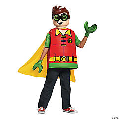 Kid's Classic LEGO Robin Costume - Large