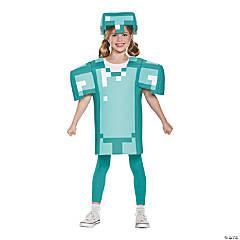 Kid's Classic Minecraft Armor Costume