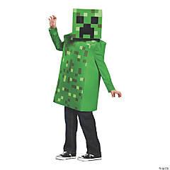 Kid's Classic Minecraft Creeper Costume