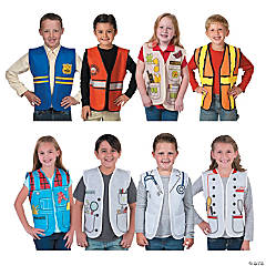 Kid's Community Helpers Vests