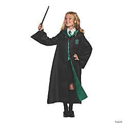 Kid's Deluxe Harry Potter Slytherin Robe - Medium