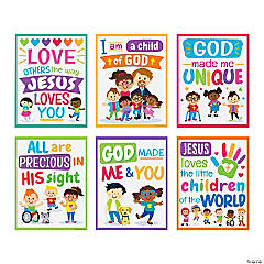 Kids' Faith & Diversity Poster Set
