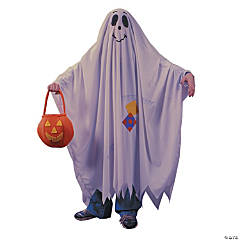 Kid's Friendly Ghost Costume - Large