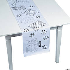 Kids' Games Table Runner