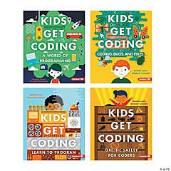 Kids Get Coding Books, Set of 4