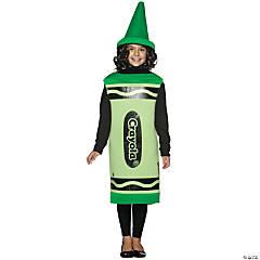 Kid's Green Crayola® Crayon Costume - Medium