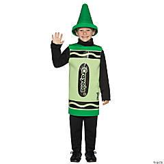 Kid's Green Crayola® Crayon Costume - Small