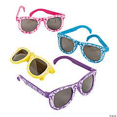 1170881301 Per Dozen. Kids  Hibiscus Sunglasses - 12 Pc.