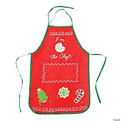 kids holiday baking apron - Christmas Apron