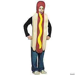 Kid's Hot Dog Costume - Medium