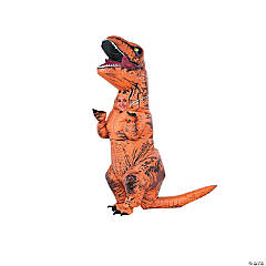 Kid's Inflatable Jurassic World™ T-Rex Costume with Voice Box