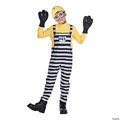 Kid's Jail Minion Tom Costume - Medium