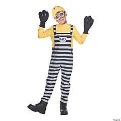 Kid's Jail Minion Tom Costume - Small