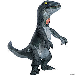 Kid's Jurassic World: Fallen Kingdom™ Inflatable Blue Velociraptor Costume