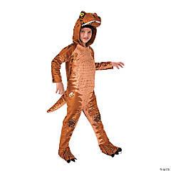 Kid's Jurassic World: Fallen Kingdom™ T-Rex Oversized Jumpsuit Costume - Large