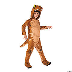 Kid's Jurassic World: Fallen Kingdom™ T-Rex Oversized Jumpsuit Costume - Medium