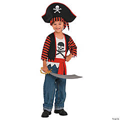 Kid's Little Pirate Costume - Medium