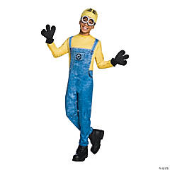 Kid's Minion Dave Costume - Large