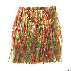 Kids' Multicolor Grass Hula Skirt