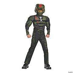 Kid's Muscle Halo Wars Jerome Costume