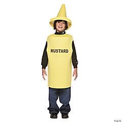 Kid's Mustard Costume - Medium