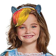 Kid's My Little Pony Rainbow Dash Headpiece with Hair