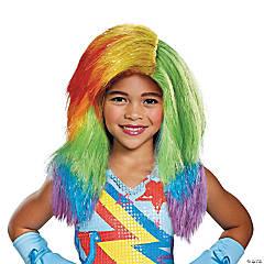 Kid's My Little Pony Rainbow Dash Wig