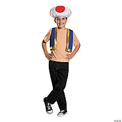 Kid's Nintendo Super Mario Bros. Toad Costume Kit
