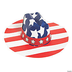 Kids' Patriotic Cowboy Hats